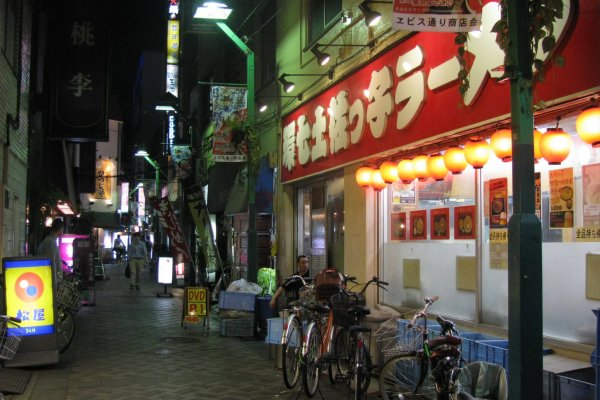 Вечер в Икебукуро