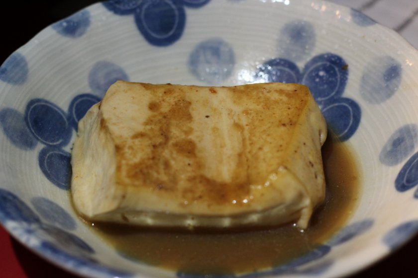 Delicious tofu oden at Kokin Chan.