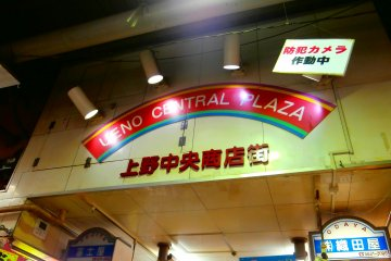 Ueno Central Plaza (indoor)