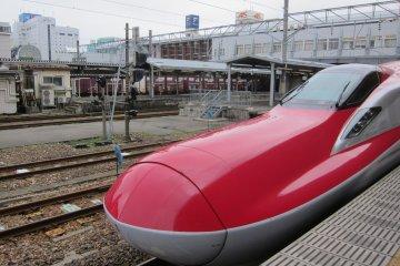 Tokyo to Akita by Super Komachi