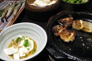 Тофу и гёдза