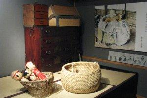 Раньше куклы кокэси служили игрушками
