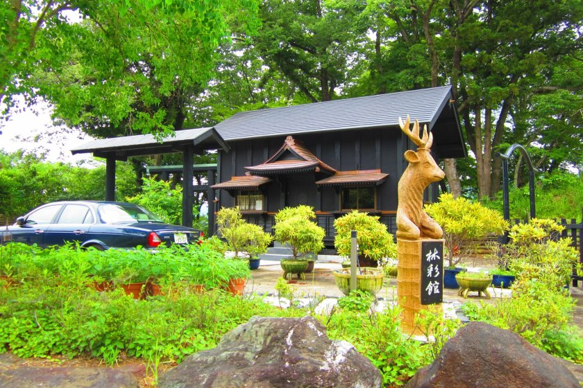 An old rice storehouse from Akita, rebuilt as part of a dowry