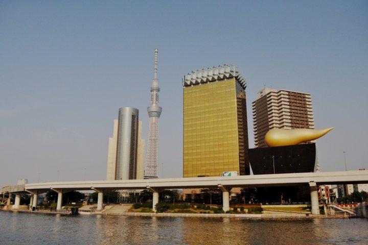 Sumida River Promenade in Asakusa