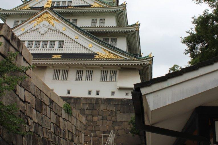 大阪名物:大阪城!
