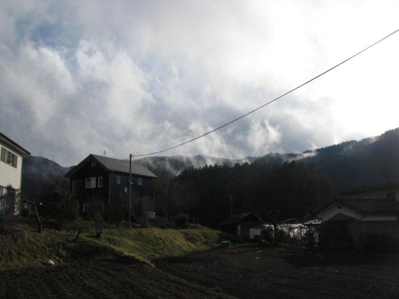 Сельская местность в Нагано