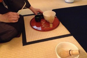 The exquisite Tea bowl and whisk is very much a part of the tea ceremony experience