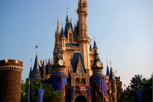 迪斯尼城堡