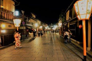 มนต์เสน่ห์ยามราตรี..ที่เกียวโต