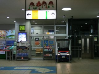 Signs and convenience stores.