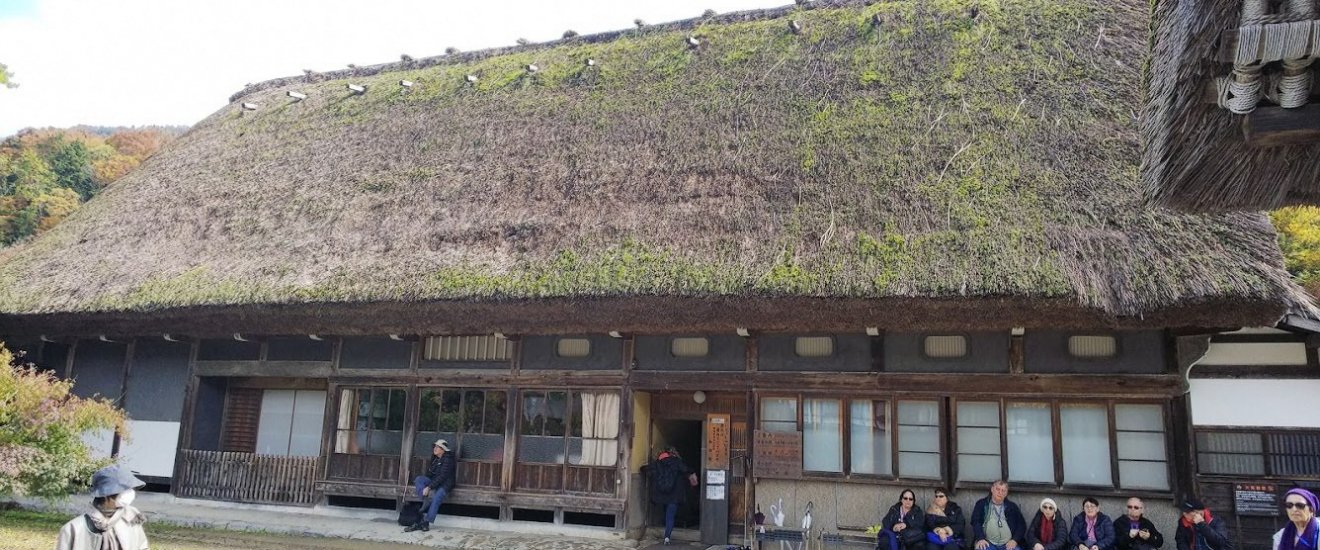 Wada House in Ogimachi