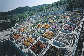 The whole of Yumebutai offers incredible views.