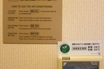 How to use the airconditioner (I like the english explanations)