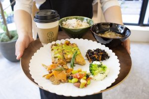 A healthy and hearty meal from Deli & Bar