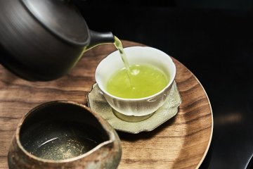 Experience the Japanese tea culture from the comforts of your accommodation