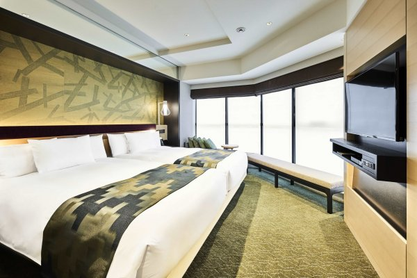 Spacious room with a view