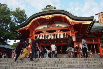ศาลเจ้าฟุชิมิ อินะริ แห่งเกียวโต