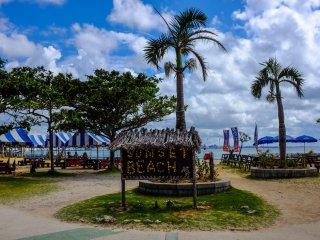 Sunset Beach, Chatan, Okinawa
