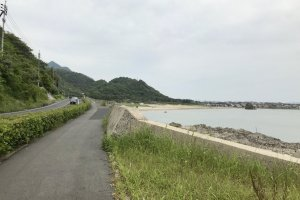 Cruising the coastline in Shimane is incredibly relaxing