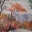 和紙繪畫(ちぎり絵 Chigiri-e)