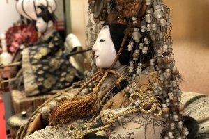 Несколько классических кукол в Хинаносато