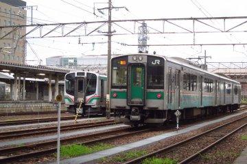 Train in wait