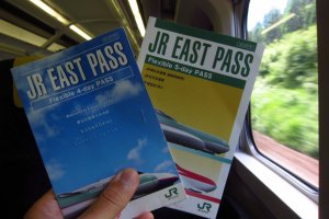 JR East Pass is valid over 5 separate days within a 14 day period.