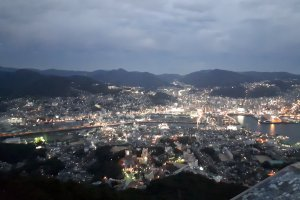The spectacular view from Mount Inasa