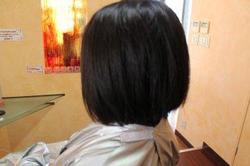中间过渡发型一枚