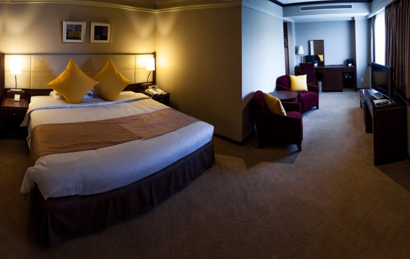The rooms are clean and comfortable with a quality feel.