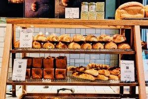 出来立てパンがいっぱい