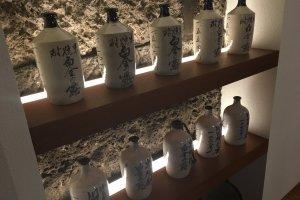 Historic bottles