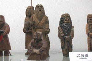 Деревянные куклы Хоккайдо