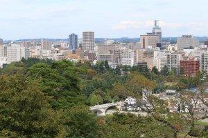 Сендай - красивый, зелёный и спокойный город