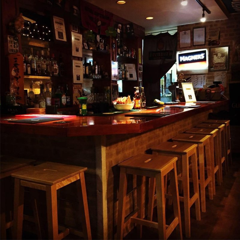 The cozy bar