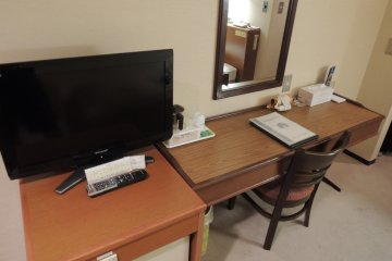 Desk for your laptop or to do some paperwork