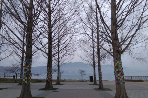 Scene by Lake Biwa