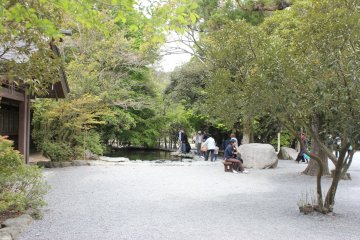 The park in Ise-jingu