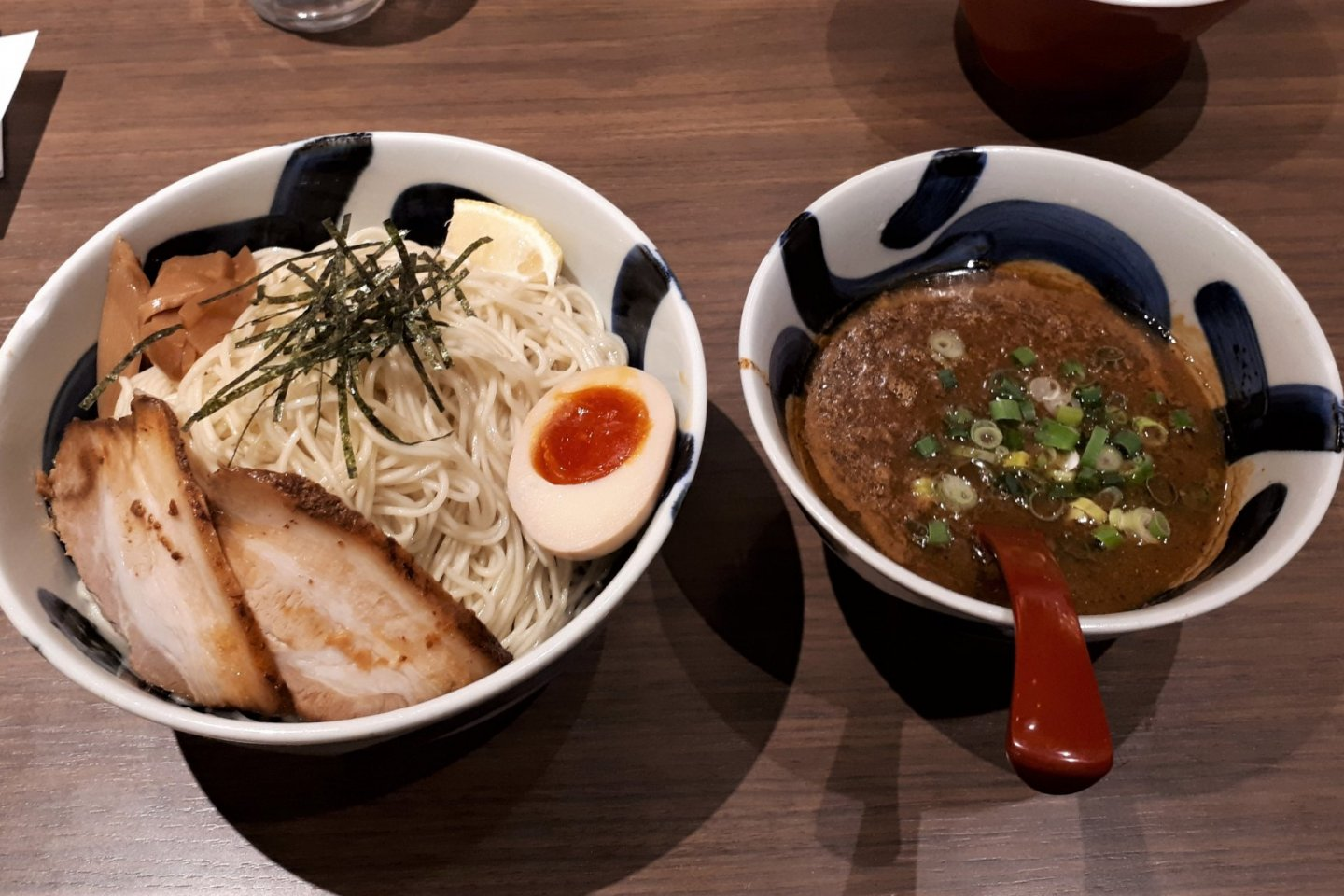 Tsukemen dipping ramen, one of my favourite ways to eat ramen