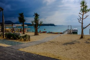 Kariyushi Beach facilities center