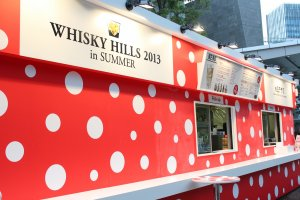 The Polka Dot Terrace is serving up drinks in the name of 'Whiskey Hills 2013!'