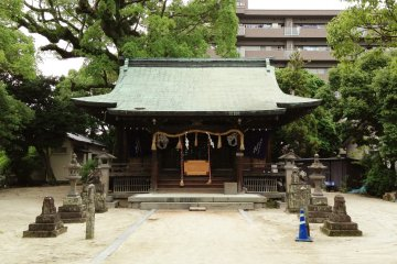 <p>Horie Shrine</p>