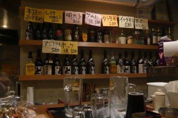 일본의 정겨운 술집의 풍경~