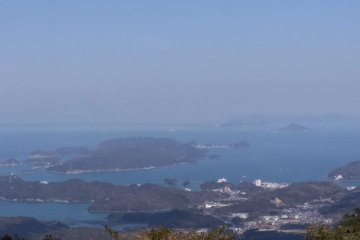 Ise Bay from Mt Asama