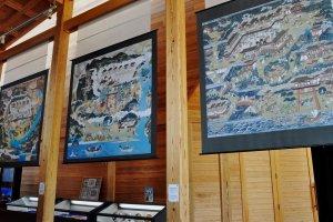 Three Kumano mandala in the North Hall