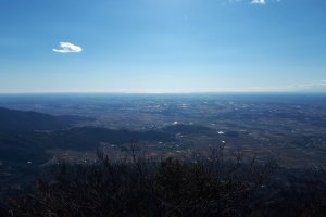 An incredible view from the summit