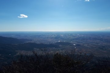 Mt Tsukuba in the East