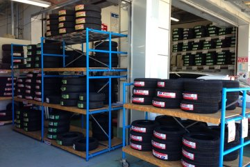 If one of your tire sidewalls fail while driving to Make Man - as mine did - the low tire prices include mounting, valves and balancing