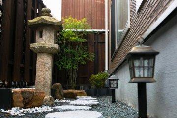 A tranquil garden