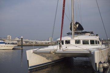 catamaran from luxuryyacht